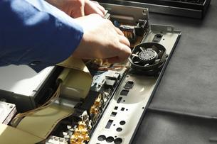 家電製品の出張修理の写真素材 [FYI04279062]