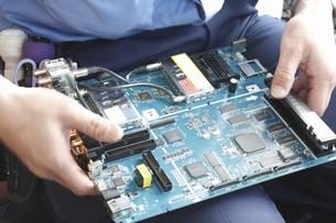 家電製品の出張修理の写真素材 [FYI04279063]