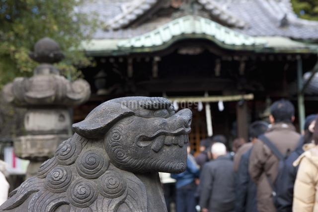 三囲神社のイラスト素材 [FYI04279107]
