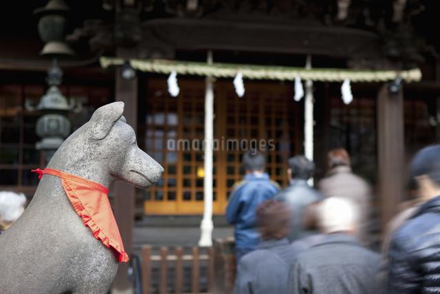 三囲神社のイラスト素材 [FYI04279109]