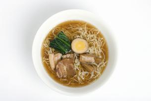 醤油ラーメンの写真素材 [FYI04279401]