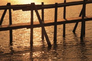 東郷湖の写真素材 [FYI04279534]