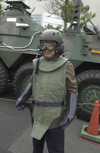 放射能防護服の写真素材 [FYI04280023]