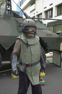 放射能防護服の写真素材 [FYI04280024]