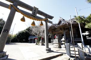 小動神社の写真素材 [FYI04280564]