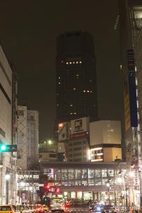 節電でネオンが消えた渋谷の写真素材 [FYI04280850]