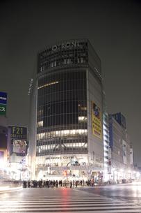 節電でネオンが消えた渋谷の写真素材 [FYI04280851]
