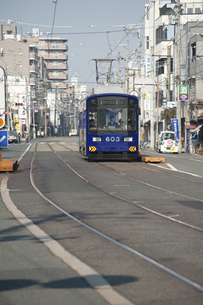 阪堺電車のイラスト素材 [FYI04281283]