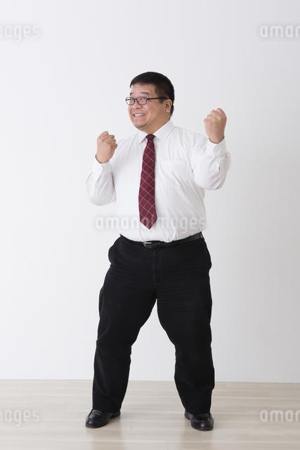 スーツを着た男性の写真素材 [FYI04281724]