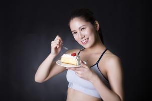 女性のポートレートの写真素材 [FYI04281909]