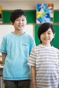 教室の小学生の写真素材 [FYI04281936]