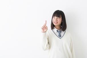 閃いた女子高生の写真素材 [FYI04282451]