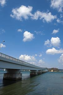 能登島大橋の写真素材 [FYI04283251]