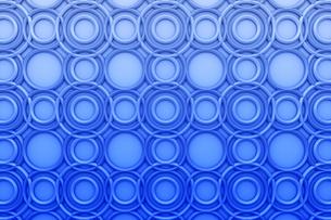 一面に並ぶリングの模様 CGの写真素材 [FYI04283309]