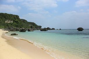 沖縄のビーチの写真素材 [FYI04283543]