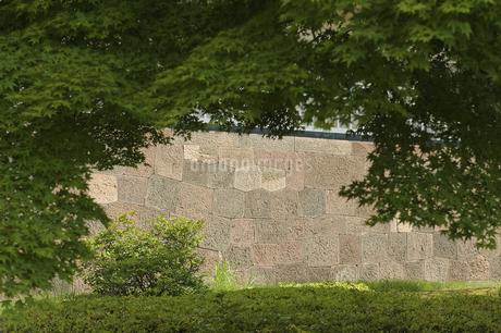 石垣の写真素材 [FYI04283653]