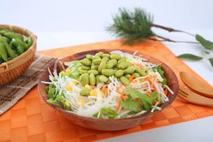 枝豆サラダの写真素材 [FYI04284691]