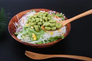 枝豆サラダの写真素材 [FYI04284698]