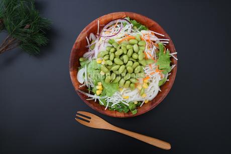 枝豆サラダの写真素材 [FYI04284702]