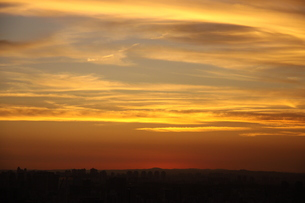 サンパウロの夕焼けの写真素材 [FYI04284802]