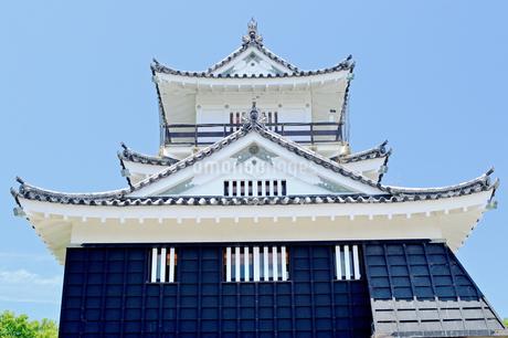 浜松城天守閣の写真素材 [FYI04284927]