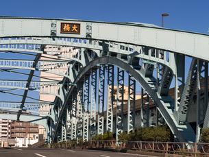 東京都 千住大橋の写真素材 [FYI04285119]