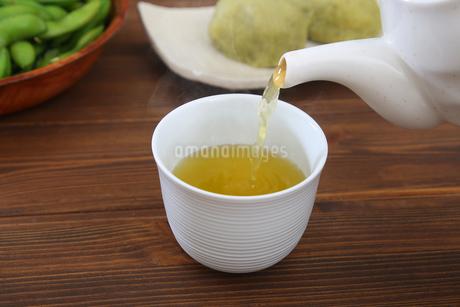 緑茶の写真素材 [FYI04285810]