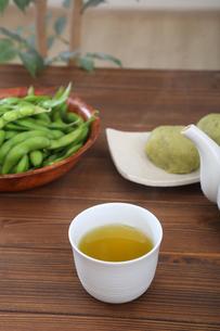 緑茶の写真素材 [FYI04285814]