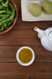 緑茶の写真素材 [FYI04285817]