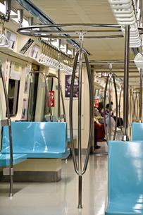 台湾 台北 地下鉄車内 MRTの写真素材 [FYI04286185]