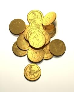 金貨のイラスト素材 [FYI04286518]