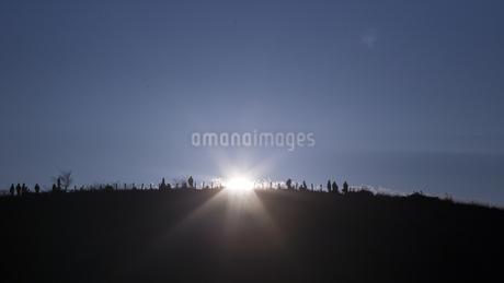 高ボッチ高原 日本 長野県 塩尻市の写真素材 [FYI04286885]