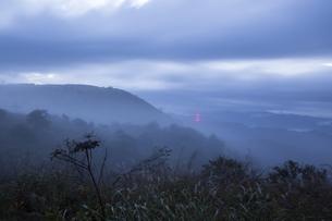 高ボッチ山 日本 長野県 岡谷市の写真素材 [FYI04286887]