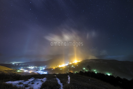 霧が峰高原 日本 長野県 諏訪市の写真素材 [FYI04286914]