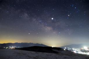 霧ヶ峰 富士見台 日本 長野県 諏訪市の写真素材 [FYI04286958]