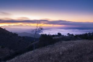 高ボッチ高原からの眺め 日本 長野県 塩尻市の写真素材 [FYI04286965]