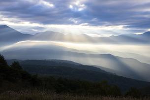 霧ヶ峰 富士見台 日本 長野県 諏訪市の写真素材 [FYI04286973]