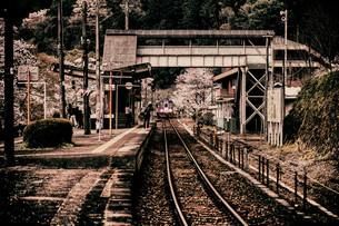 笠置駅 日本 京都府 笠置町の写真素材 [FYI04286983]