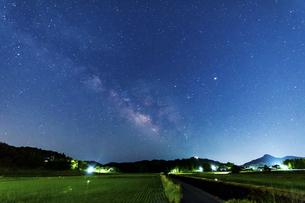 都祁白石町星景ポイント 日本 奈良県 奈良市の写真素材 [FYI04286984]