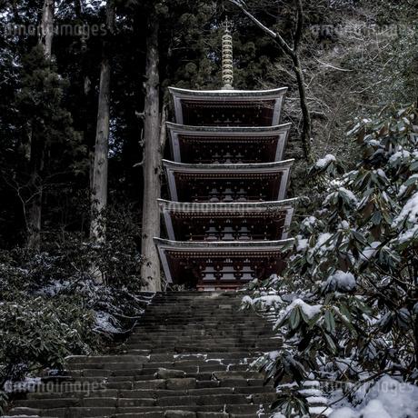 室生寺 日本 奈良県 宇陀市の写真素材 [FYI04287023]