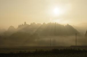 朝の風景の写真素材 [FYI04287058]