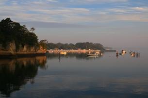 朝凪の奥松島の写真素材 [FYI04287100]