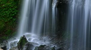 達沢不動滝 日本 福島県 猪苗代町の写真素材 [FYI04287128]