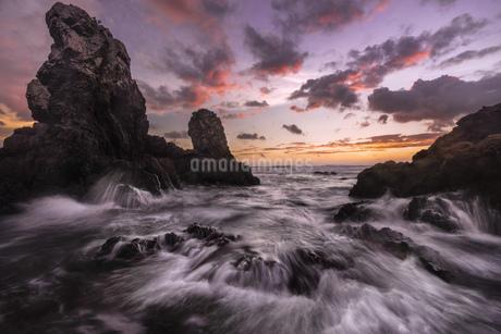 須賀牟田海岸 日本 熊本県 天草市の写真素材 [FYI04287201]