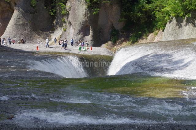 吹割りの滝 日本 群馬県 沼田市の写真素材 [FYI04287262]