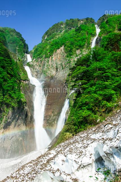 称名滝 日本 富山県 立山町の写真素材 [FYI04287281]