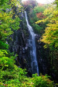 奇妙滝 日本 長野県 須坂市の写真素材 [FYI04287326]