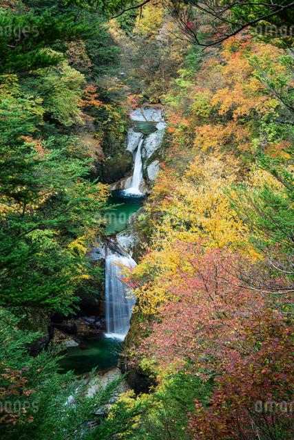 神蛇滝 日本 山梨県 北杜市の写真素材 [FYI04287328]