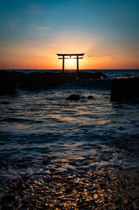 大洗海岸 日本 茨城県 大洗町の写真素材 [FYI04287332]
