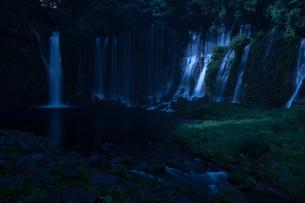白糸の滝 日本 静岡県 富士宮市の写真素材 [FYI04287343]